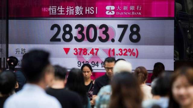 創紀錄大陸資金流入 助香港股市明年前景轉佳(圖:AFP)