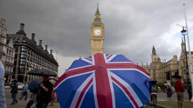 英鎊升!英下議院以壓倒性票數 通過脫歐貿易協議。(圖片:AFP)