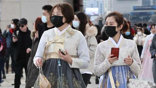 南韓2020年CPI年增0.5% 連續兩年未達1% (圖片:AFP)