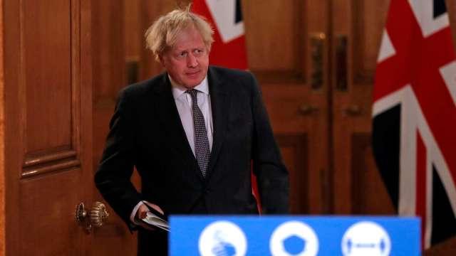 英首相強生:牛津疫苗接種 前後間隔三個月 (圖片:AFP)