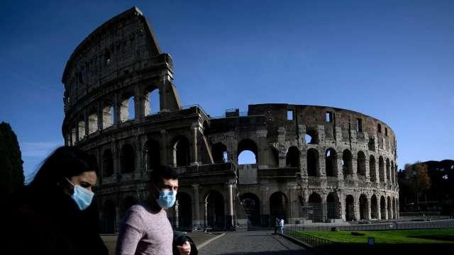 義大利當局:肺炎死亡案例 恐遠超過官方數據 (圖片:AFP)
