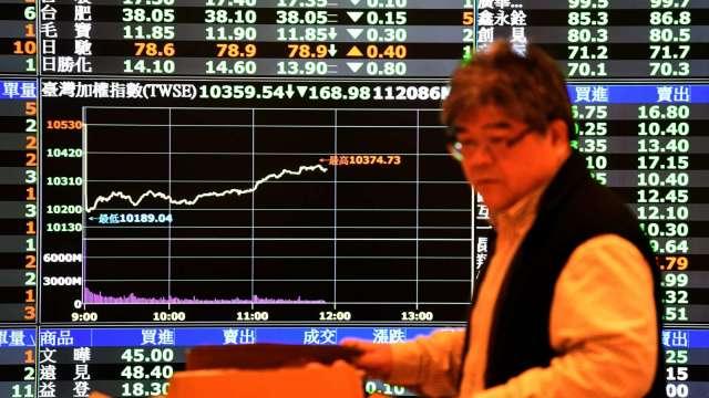 台積創高完美封關 台股漲44點收14732點 2020年大漲2735點。(圖:AFP)