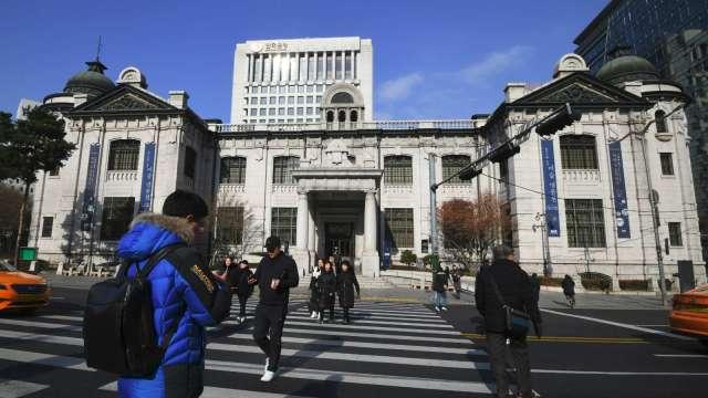 南韓央行總裁:明年仍維持寬鬆 著重關注就業情況(圖:AFP)