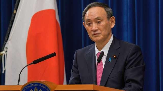 日本首都圈疫情嚴重 菅義偉要求進入緊急狀態 (圖片:AFP)