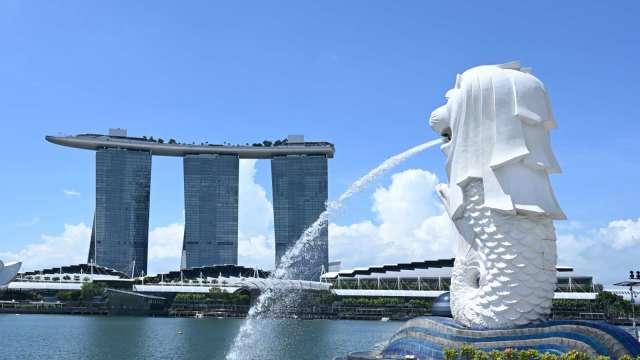 新加坡GDP持續緩慢復甦 2020年表現是獨立後最糟 (圖片:AFP)