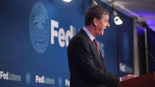 Fed官員伊凡斯:Fed欲達平均通膨目標 2.5%是關鍵(圖:AFP)