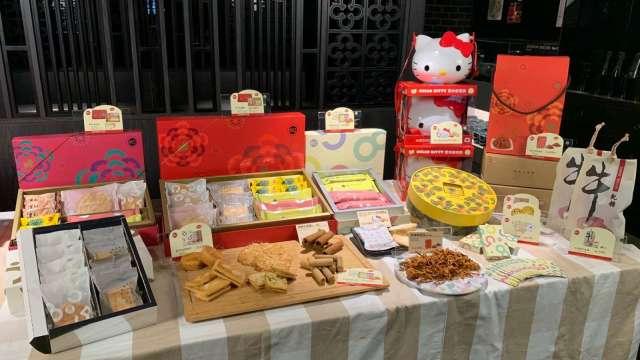美食-KY今日發表85度C春節禮盒。(圖:美食-KY提供)
