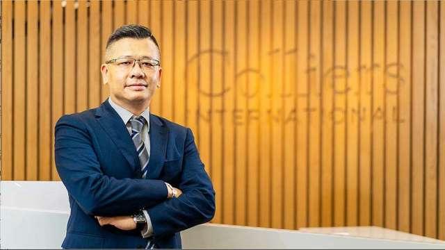 高力國際資本市場服務部執行董事黃正忠。(圖:高力國際提供)