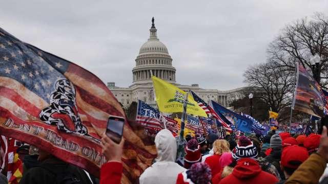 共和黨醞釀罷免川普 欲提前趕出華府 (圖片:AFP)