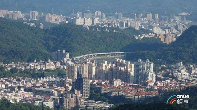 房價高掛的台北市2020年家戶購屋比也上升達到2.94%。(鉅亨網記者張欽發攝)