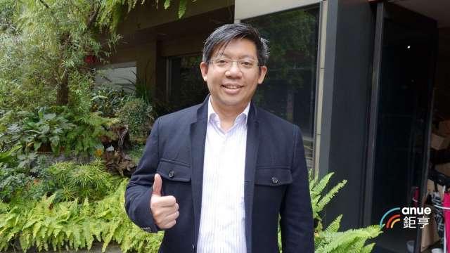 中保科技副董事長林建涵。(鉅亨網記者張欽發攝)