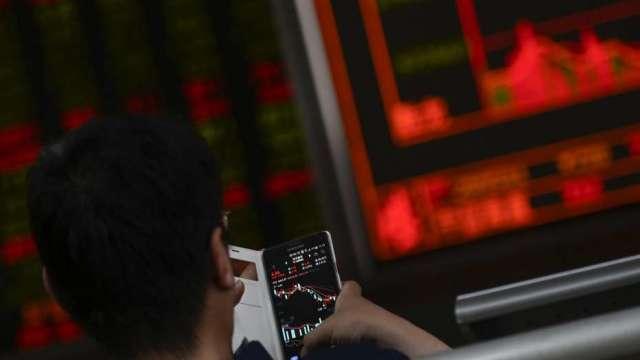 【群益期貨老爹觀點】中國股市十四五好開局。(圖:AFP)