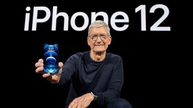 iPhone去年Q4手機中國出貨年增近5成 華爾街:蘋果市占正強勁成長(圖:AFP)