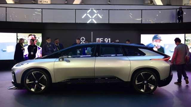 乘聯會預估今年中國新能源汽車銷量達150萬 年增三成(圖片:AFP)
