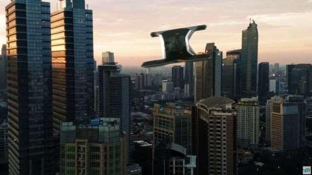通用汽車驚艷CES全場發夢造「凱迪拉克電動飛天車」。(圖片:通用)
