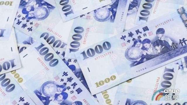 新台幣早盤最高一度來到27.947元,升值多達5.34角。(鉅亨網資料照)