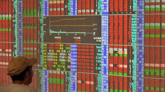 台積飛越600元大關貢獻逾百漲點 台股大漲269點收15769點締新猷 。(圖:AFP)