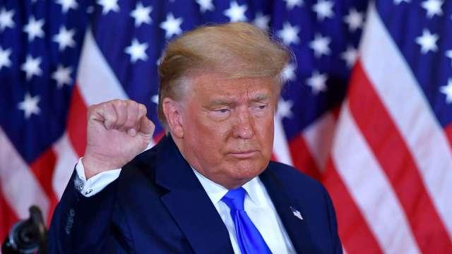 重磅!川普成美國史上首位二度遭彈劾的總統。(圖片:AFP)