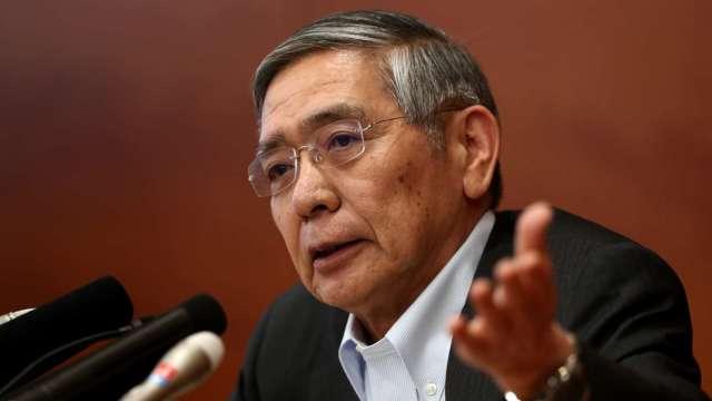 黒田東彦:關注疫情、必要時毫不遲疑進一步貨幣寬鬆 (圖片:AFP)
