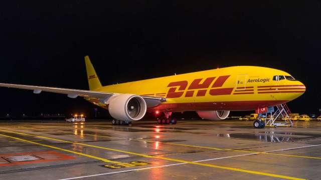 DHL宣布再添購8架B777貨機。(圖:DHL提供)