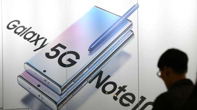 受惠5G手機銷量成長 南韓智慧型手機出貨量有望今年成長11%(圖片:AFP)