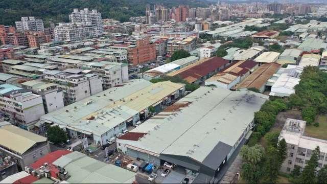 新北市塭仔圳重劃區土地交易達113億元。(圖:業者提供)