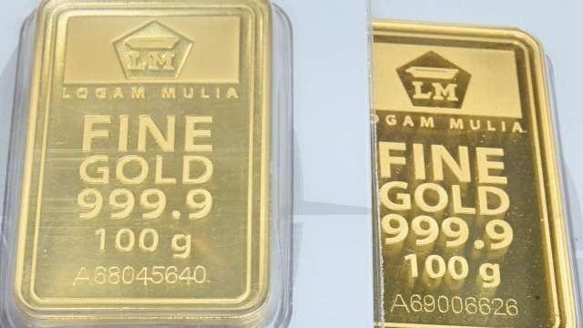 〈貴金屬盤後〉美債殖利率升 美元走強 市場偏向風險 黃金溫和收低(圖片:AFP)