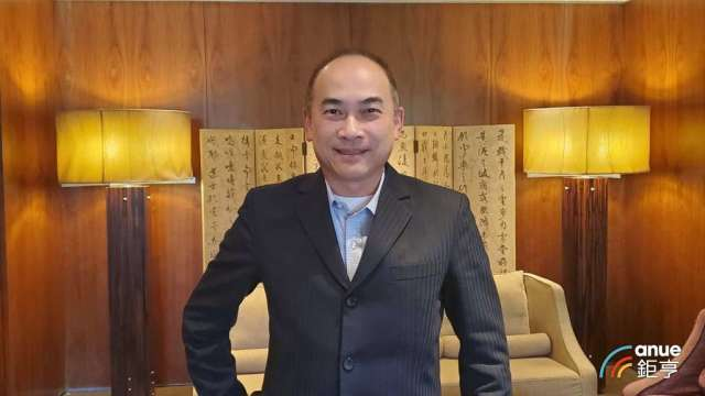 台北君悅飯店新上任總經理陳隆慶。(鉅亨網記者王莞甯攝)