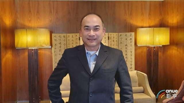 台北君悅酒店新任總經理陳隆慶。(鉅亨網記者王莞甯攝)