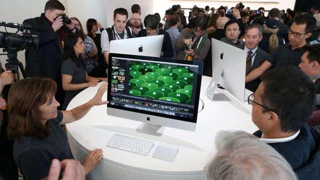 彭博:蘋果近十年來首度推新款 iMac桌機 (圖片:AFP)