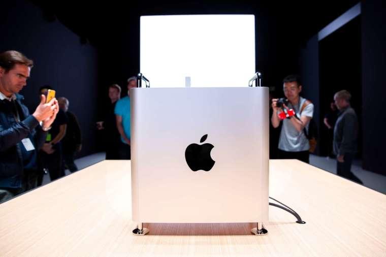 蘋果今年將推出兩款新的 Mac Pro (圖片:AFP)