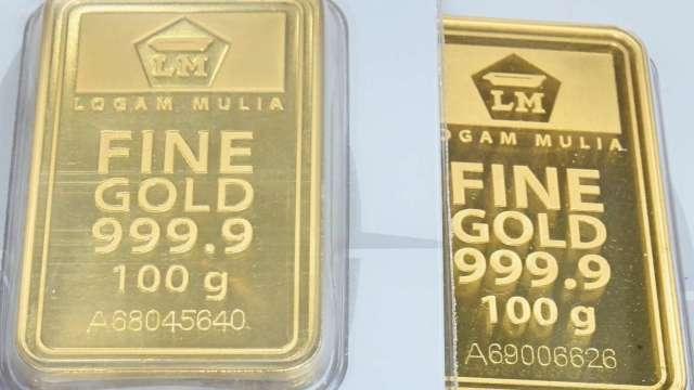 〈貴金屬盤後〉美元走強 黃金下跌 本週收低(圖片:AFP)