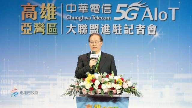 中華電信董事長謝繼茂。(圖:中華電提供)
