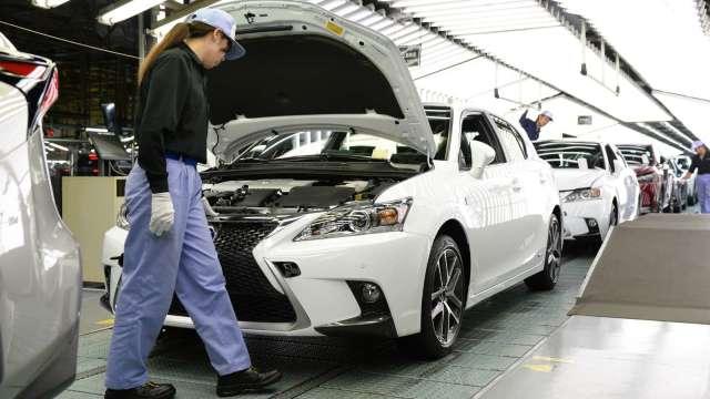 因應車市復甦 日本製鐵重啟鹿島廠區高爐 (圖片:AFP)