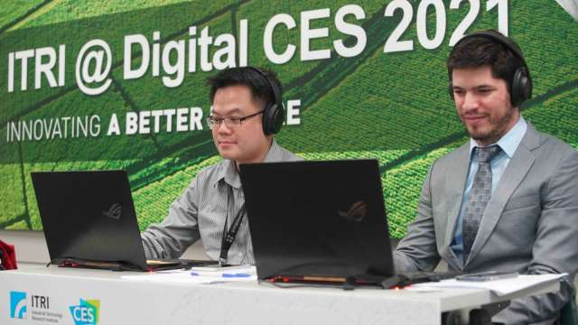 工研院CES大秀12項創新技術 吸引美歐日韓業者跨國洽詢。(圖:工研院提供)