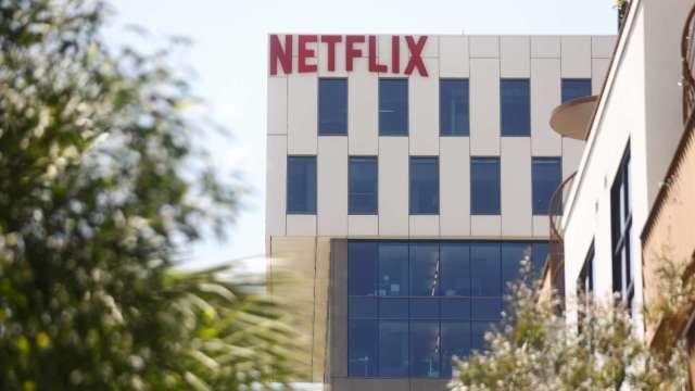 〈財報〉Netflix Q4訂閱成長強勁 自由現金流趨正 考慮執行庫藏股 盤後漲逾12%(圖片:AFP)