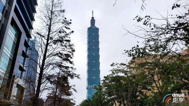 台北101強調以最高標準進行全面防疫作業。(鉅亨網資料照)