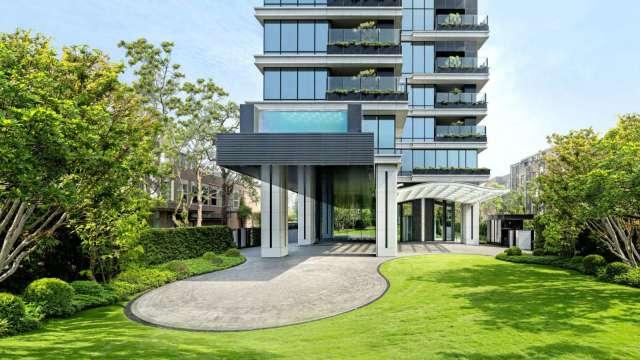 潤泰創新建案「潤泰敦峰」外觀。(圖片來源:新聯陽官網)