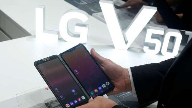 LG行動通訊部門可能收攤 股價大漲13% (圖片:AFP)