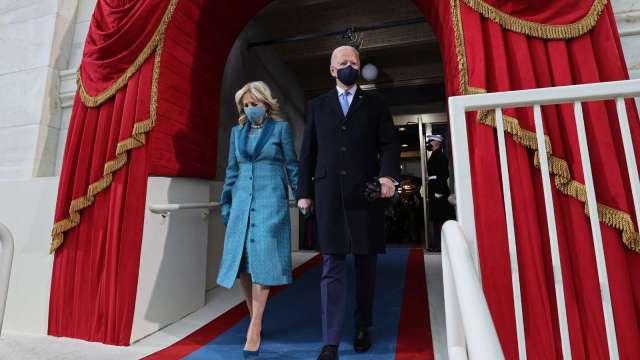 牛市總統!拜登挑戰就職前美股最強反彈 (圖片:AFP)