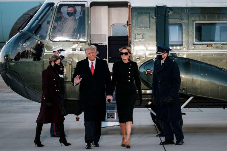 川普暗示其政治生涯可能還未結束 (圖片:AFP)