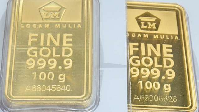 〈貴金屬盤後〉盼進一步財政刺激措施出台 美元承壓 黃金收登近2週高點 (圖片:AFP)