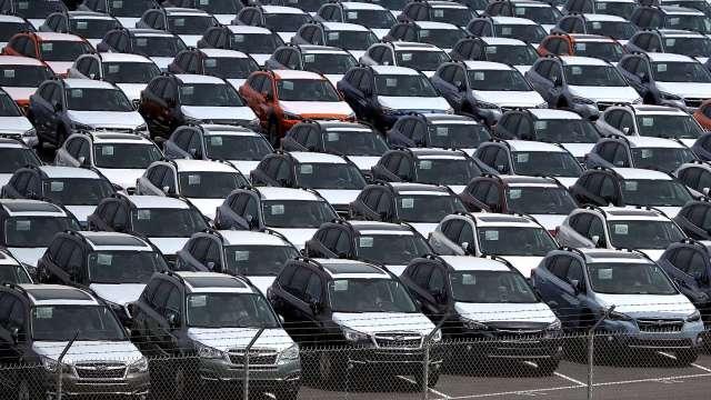 日本12月出口兩年來首增 但車用晶片缺貨拖累全年外銷 (圖片:AFP)