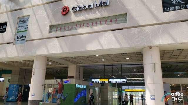 環球購物中心今年目標為全年業績成長10%。(鉅亨網記者王莞甯攝)