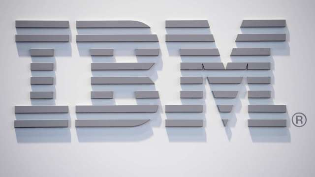 〈財報〉IBM第四季營收遜於預期 盤後挫近7% (圖片:AFP)