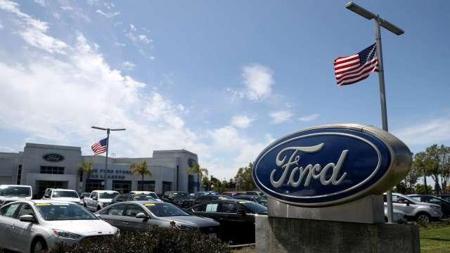 福特將召回300萬輛汽車 損失預估達6.1億美元(圖片:AFP)