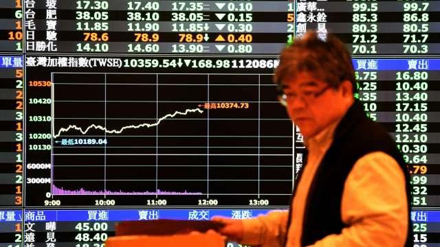台股一度摜破萬六 外資狂倒貨343億元 三大法人土洋對作賣超305.61億元 。(圖:AFP)