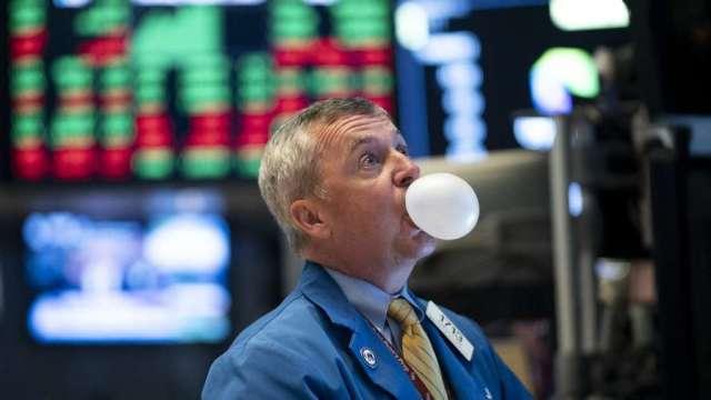 市場過熱 美國銀行情緒指標已接近2008年的賣出信號(圖:AFP)