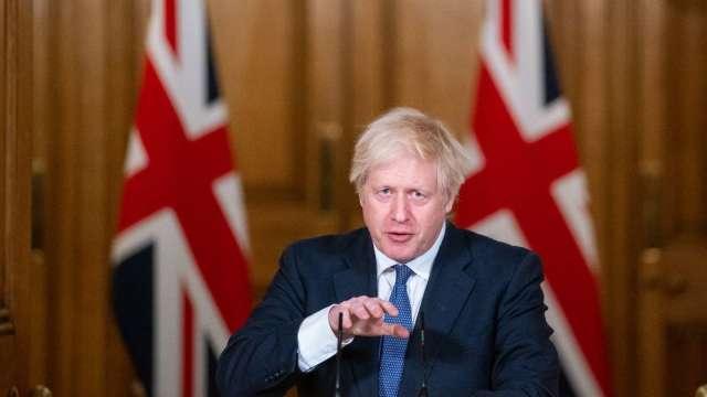 英相強生:英國變種病毒可能更致命 (圖片:AFP)