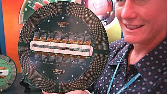 〈觀察〉晶片高值化趨勢確立 測試介面廠擁三優勢啖商機。(圖:AFP)
